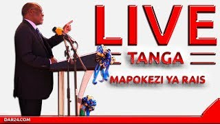 🔴LIVE BREAKING: Rais Dkt. Magufuli katika ziara Tanga