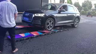 Led Display Dance Floor Test By 2060kg Car