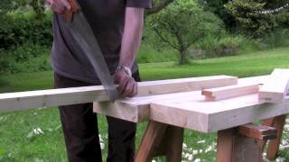 How To Build A Workbench - (part 5) Making And Preparing The Legs - With Paul Sellers