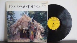 AFRICAN FOLK MUSIC  - from  Central Africa - Vinyl Reincarnation