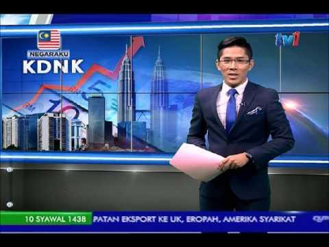 KDNK MALAYSIA - SEPARUH PERTAMA 2017 DIJANGKA 5.4%  [4 JUL 2017]