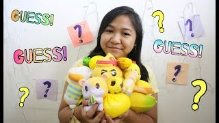 GUESS MY YELLOW SQUISHY COLLECTION!?!