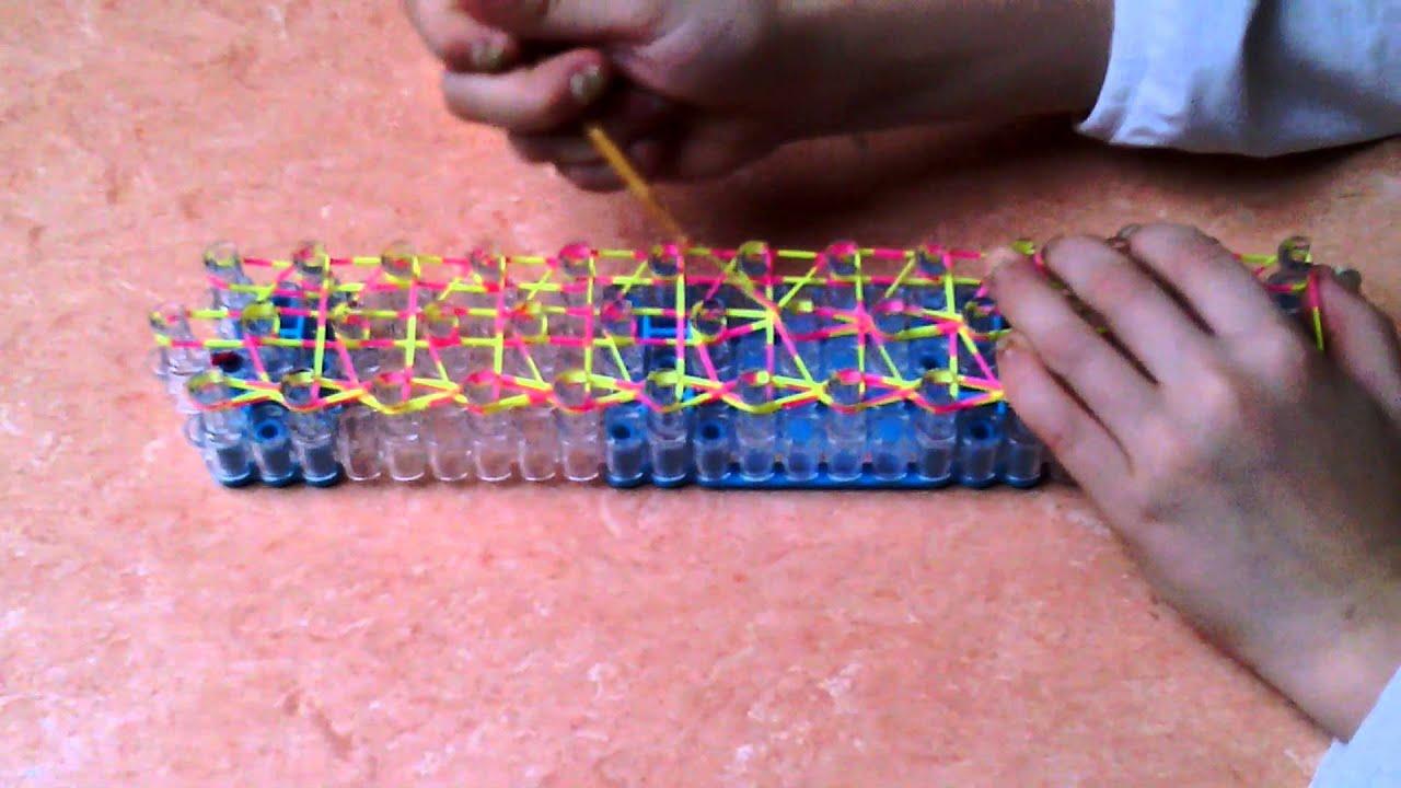 mit gummibänder armbänder machen