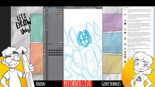 LIVE DRAWING CHAT! 1980s Cartoons, The Quartering and More