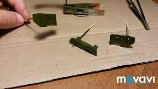 Автолегенды СССР Вантажівки | АС-161(130) | Доопрацювання моделі та фарбування