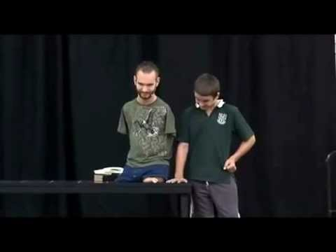 Nick Vujicic - Attitude Is Altitude.com and Life Without Limbs.org