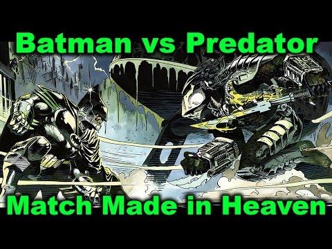 Batman vs Predator Comics - A Match Made in Heaven