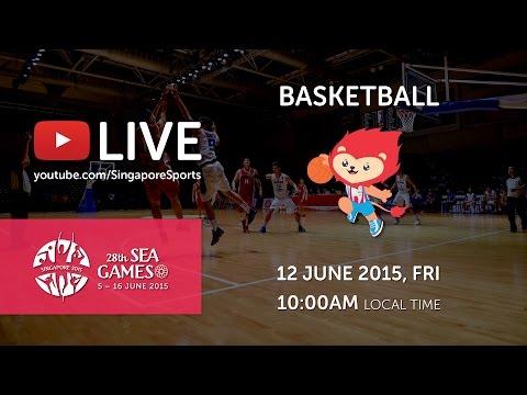 Basketball Mens Myanmar vs Vietnam (Day 7) | 28th SEA Games Singapore 2015