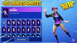 *NEW* SYNTH STAR SKIN WITH +65 DANCES/EMOTES! Fortnite Battle Royale