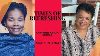 PART TWO: REST STOP CONVERSATION WITH  PHYLIS MACK