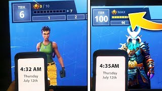 how i got ALL 100 Battle Pass tiers in 3 minutes for free! (WATCH BEFORE THEY PATCH)