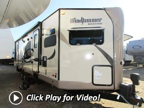 Rockwood Travel Trailer With Front Kitchen