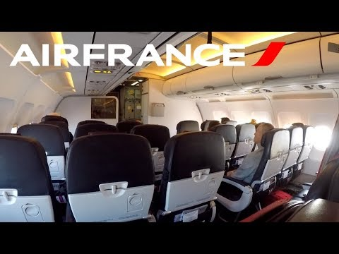 FLIGHT REPORT / AIR FRANCE A319 / PARIS - KIEV + NIGHT IN CDG