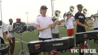 DCI 2013: Carolina Crown, Part 1 of 3 - Rehearsal Footage!
