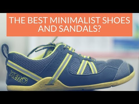 Best minimalist shoes and barefoot sandals - Prio and Z trek | Xero Shoes review