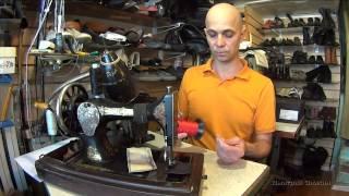 Настройка бытовой швейной машинки для шитья кожи. Рекомендации по подбору игл и ниток.(Подпишись, будет интересно! http://dimz939.justclick.ru/rulpodp-start
