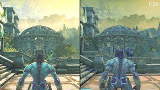Darksiders 2 Pc Vs PS4 Deathinitive Edition Graphics Comparison