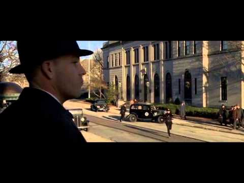 Public Enemies - First Bank Robbery Scene