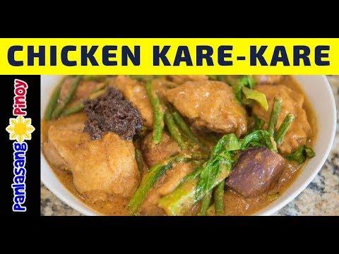 Chicken Kare Kare - Panlasang Pinoy