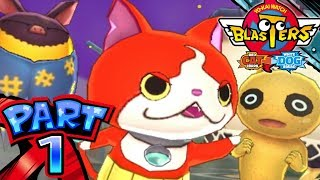 YoKai Watch Blasters  Part 1  Red Cat Corp and White Dog Squad