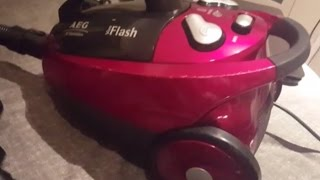 Cambio Cable aspirador AEG Viva Flash AE 7340 (Change Power Cord vacuum cleaner)