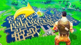 *NEW* Fortnite MAZE Gamemode! (Battle Royale)