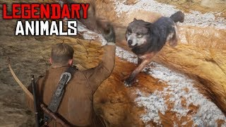 HUNTING LEGENDARY ANIMALS   RDR 2 OUTLAWS #16