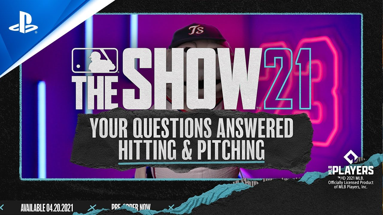 MLB The Show 21 - Your Questions Answered on Hitting & Pitching | PS5, PS4