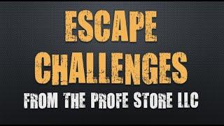 Spanish Escape Challenge Preview