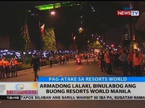 Armadong lalaki, binulabog ang buong Resorts World Manila