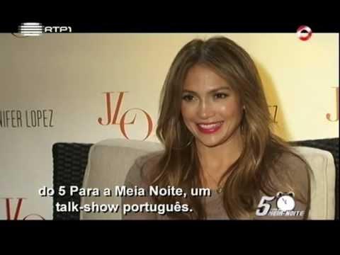 Entrevista com Jennifer Lopez / Pedro Fernandes / 5 Para a Meia Noite