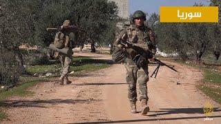 صور خاصة للجزيرة مباشر من العملية العسكرية للمعارضة السورية في ريف إدلب
