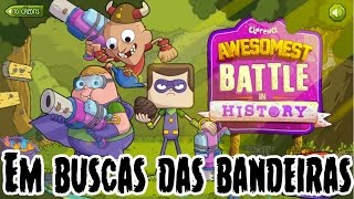 CLARENCE : Awesomest Battle In History : Em Buscas Das Bandeiras