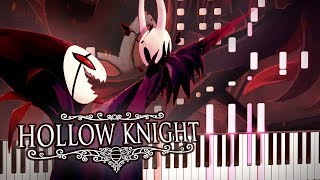 Hollow Knight - Grimm Troupe   Piano Tutorial   Hollow Knight Piano Collections