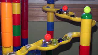 Some closeups of the marble run in my marble race series. My latest...