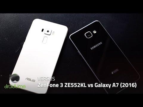 ASUS ZenFone 3 ZE552KL vs Samsung Galaxy A7 (2016)