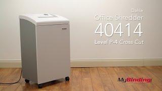 Dahle 40414 Office Level 3 Cross Cut Paper Shredder