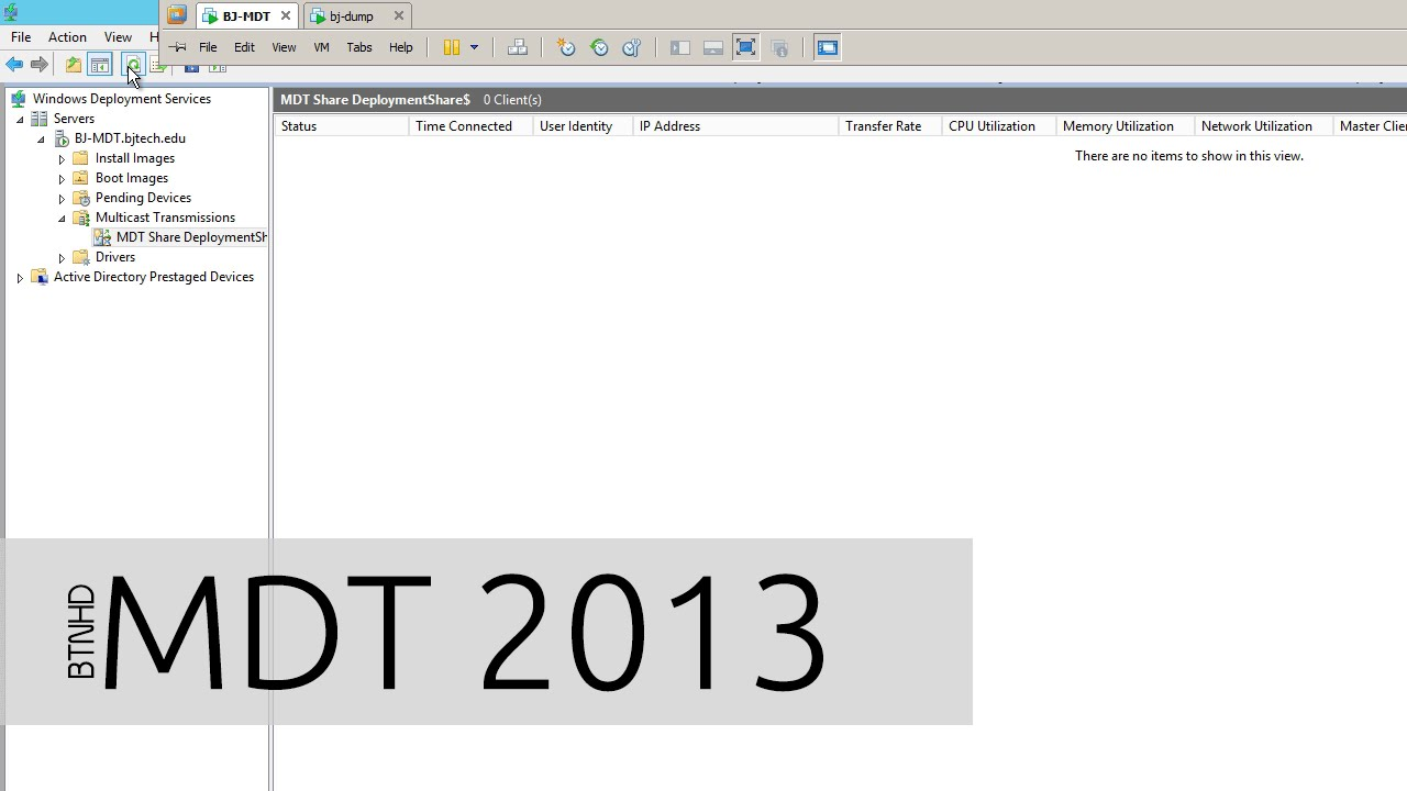 What is Multicasting within MDT 2013?