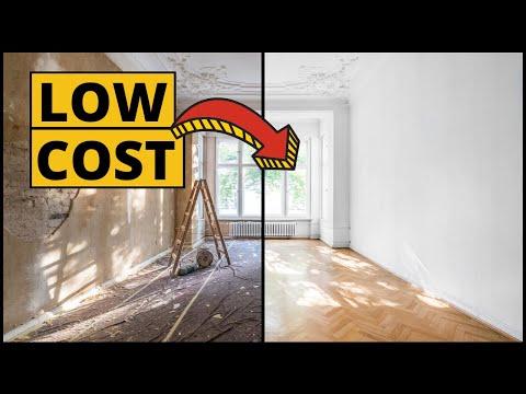 8 Idee per ristrutturare casa spendendo poco