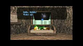 The Legend of Zelda - Ocarina of Time - Legend of Zelda Ocarina of Time - Video Tutorial HD Game walkthrough - PART 1 - Opening - User video