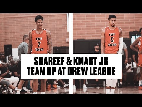 Shareef O'Neal, Brandon Jennings, and Kenyon Martin Jr Put On a Show at The Drew - Full Highlights