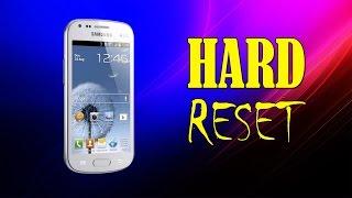 Как сделать Hard Reset на Samsung Galaxy S Duos S7562