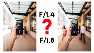 f/1.4 VS f/1.8 Can YOU Tell The Difference? (this will save you money)