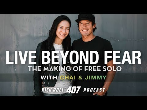 Live Beyond Fear: Jimmy Chin & Chai Vasarhelyi on 'Free Solo' | Rich Roll Podcast