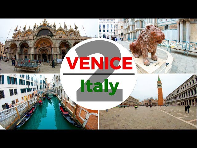 Venice, Italy Walking Tour Part 2 of 6