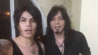 Ucapan selamat dari Axel andaviar dan Ovy /Rif atas launching single perdana korps Rock