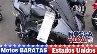 Preço de Motos BARATAS nos Estados Unidos - Nossa Vida USA