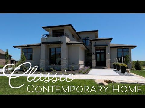 Classic Contemporary Home - Interior Design by Falcone Hybner Design, Inc