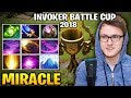 Miracle Invoker In Battle Cup - Skill Efficiency at the Best