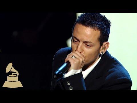 Chester Bennington on Performing w/Jay-Z & Paul McCartney   48th GRAMMY Awards
